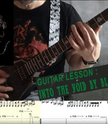 Guitar Tutorial: Black Sabbath – Into The Void