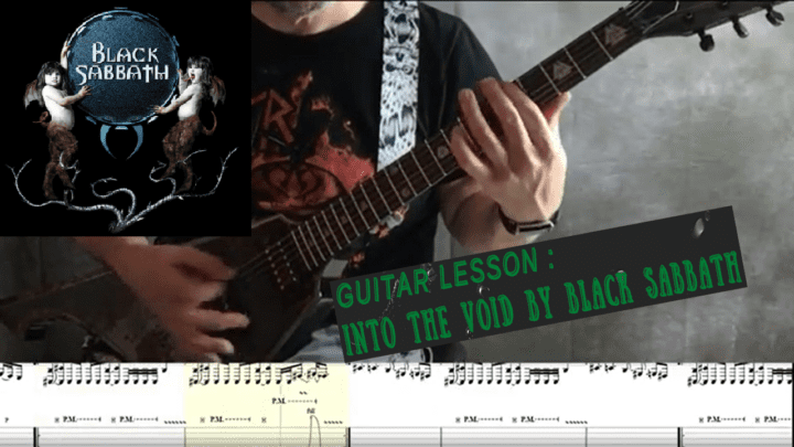Into The Void Guitar Lesson